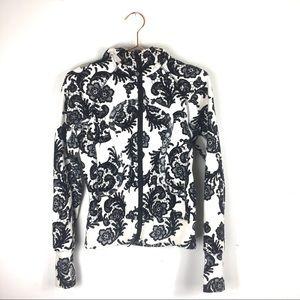 Lululemon Laceoflage Scuba Sweater Sz 4